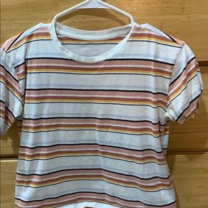 Hollister striped XS t shirt
